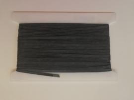 Elastiek naakt 8mm zwart