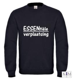 Dames sweater 'ESSENtiële verplaatsing'