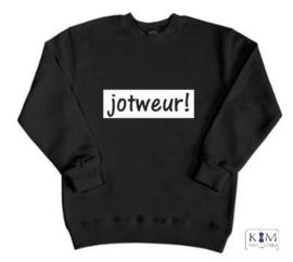 Kinder sweater 'jot weur!'