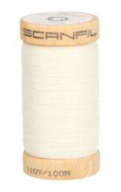 Scanfill garen 100% organic cotton wit 4800