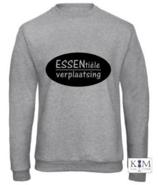 Heren sweater 'ESSENtiële verplaatsing'