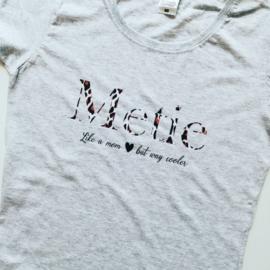 Dames T-shirt 'Metie'