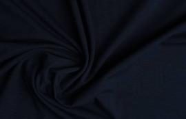 Cotton jersey donkerblauw