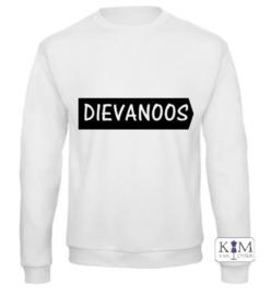Dames sweater 'dievanoos'