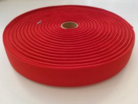 Bandelastiek 25mm rood