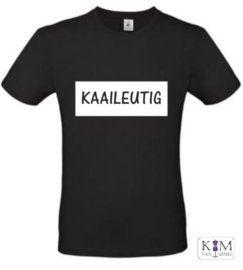 Heren T-shirt 'kaaileutig'