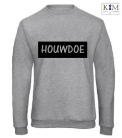 Heren sweater 'houwdoe'