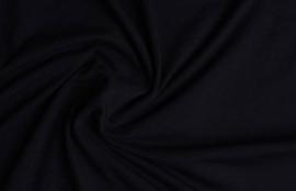 Cotton jersey zwart