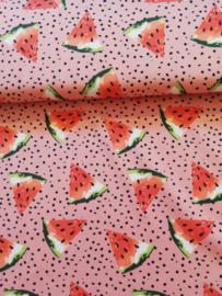 Cotton jersey meloen
