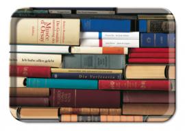 """Mini dienblad """"boeken"""""""