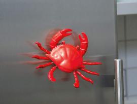Wiebel koelkastmagneet / Kreeft en krab
