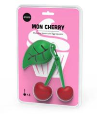 Mon Cherry - Maatlepels en eiersplitser