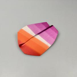 Kreukel broche - Rainbow (verschillende kleuren beschikbaar)