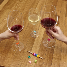 Rainbow Wine markers