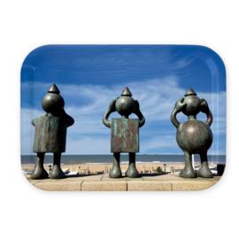 Dienblad - Sprookjesbeelden aan Zee