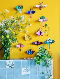Muurdecoratie Studio Roof - Insecten & vlinders