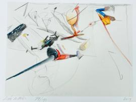 Auke de Vries / tekening