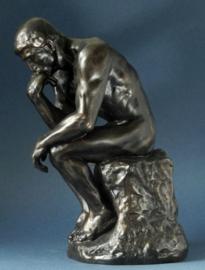 De denker door Auguste Rodin / Reproductie