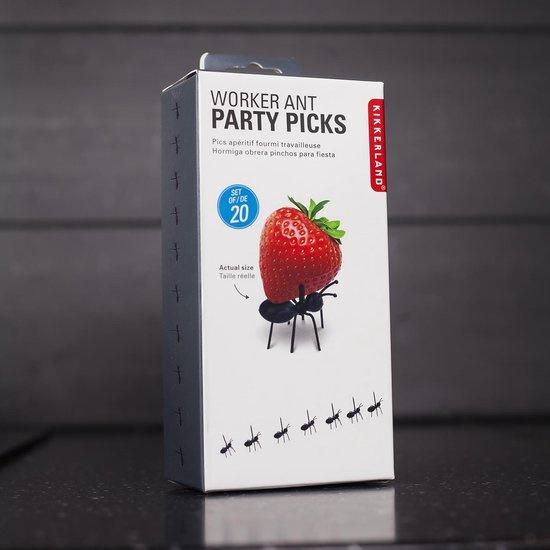 Party mieren - cocktailprikkers (20 stuks)