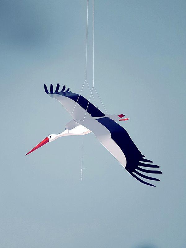 Ooievaar - Piet design (vouwkunst)