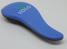 Y.O.L.O. Detangler brush Blauw