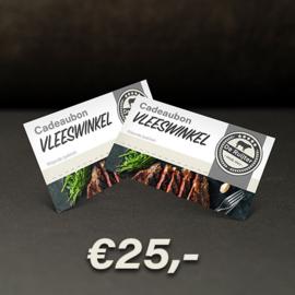 Cadeaubon De Ruijter Vlees €25