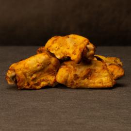 Scharrel kip spareribs voorgegaard en gekruid