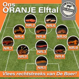 EK Oranje Elftal BBQ pakket van De Boer