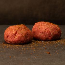 Bal gehakt gekruid half-om-half  'pan klaar' per stuk