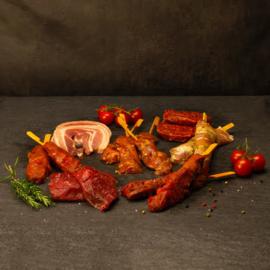 BBQ Rund-Kip-Varken Populair (ca 4 pers.)
