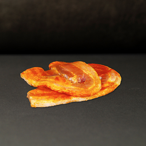Scharrel varken speklap 2 stuks gekruid