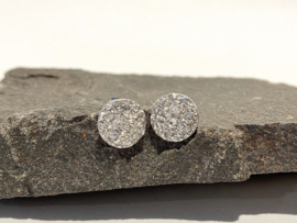Zilver + Kristal structuur