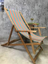 Vintage retro strandstoel