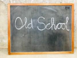 Groot vintage schoolbord