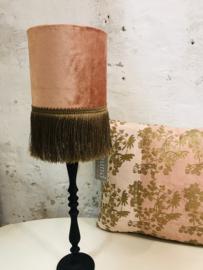 Goround lampenkap (pen) velours oud roze.