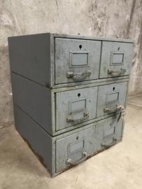 Industriële filing cabinet.