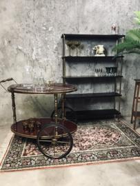 Vintage etagère, schappen kast, rek.