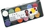 Fun schminkdoos - 12 kleuren