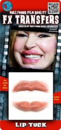 Opgeblazen lippen 3D FX transfers