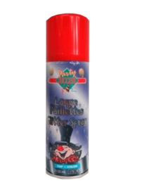 Haarspray glitter rood