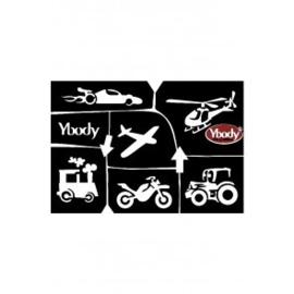 A5 stencil Transport Y body
