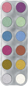 Grimas waterschmink palet | pearl pure p12
