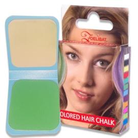 Haarkrijt groen (6G)