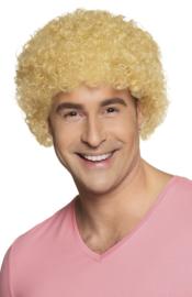 Clownspruik blond