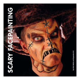 Boek scary facepainting