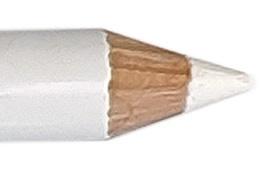 Oogpotlood 11 cm wit