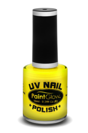 Neon UV geel nagellak