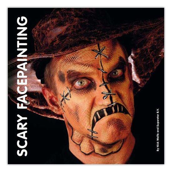 Boek scary facepainting