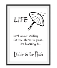 Life isn't about waiting - Poster