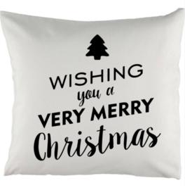 Kussen Very Merry Christmas